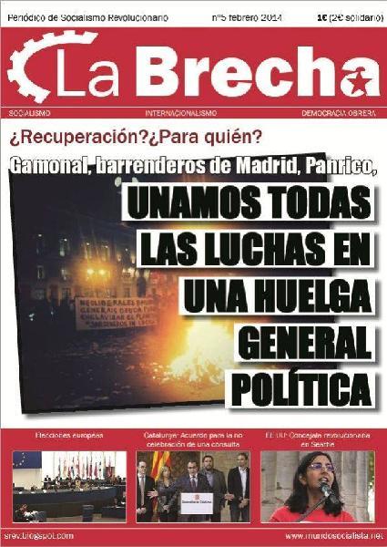 Espagne 2014. Une reprise ? Pour qui ?