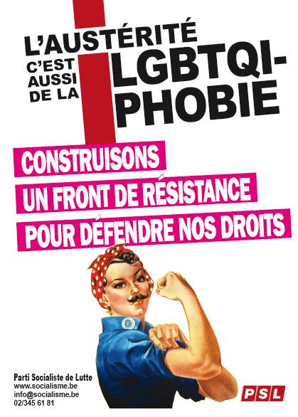 L'austérité, c'est aussi de la LGBTQI-phobie