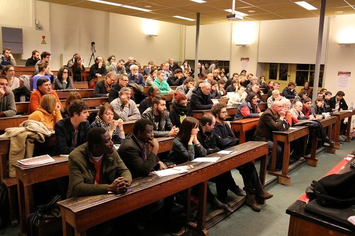Liège : Une centaine de personnes assistent à notre meeting consacré à Syriza