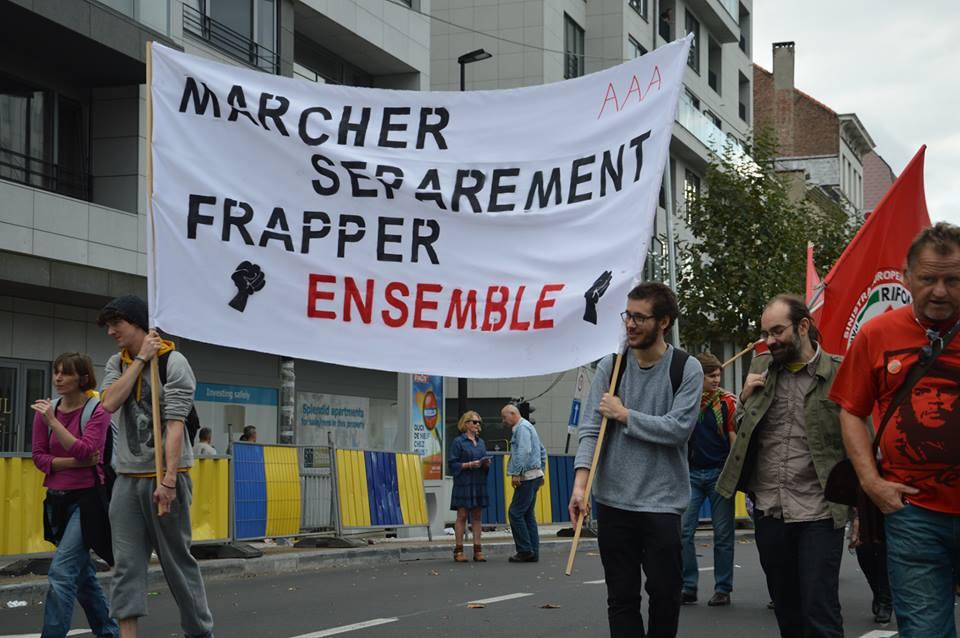 """Liège : """"Un jour contre l'austérité"""""""