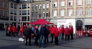Grève du 22 avril : reportage-photos de Louvain