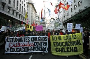 [INTERVIEW] Nouvelle vague de lutte au Chili