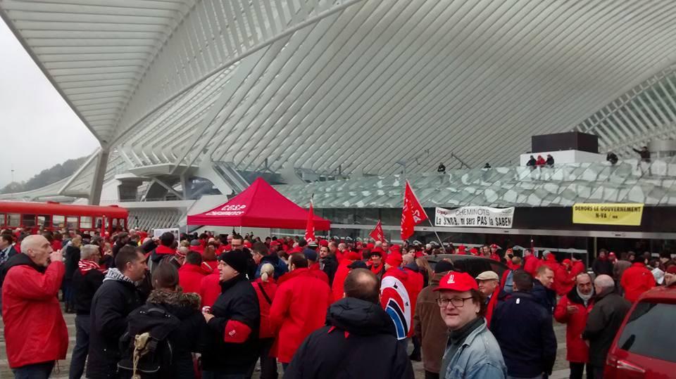 Grève de 24 heures en province de Liège : un succès sur lequel construire!