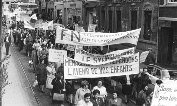 """[DOSSIER] """"A travail égal, salaire égal!"""" La grève des femmes de la FN de Herstal"""
