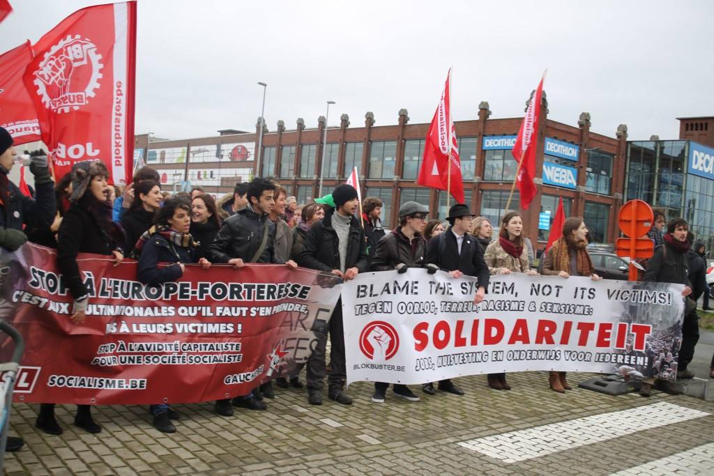 """Gand: """"La lutte antiraciste est une lutte sociale"""""""