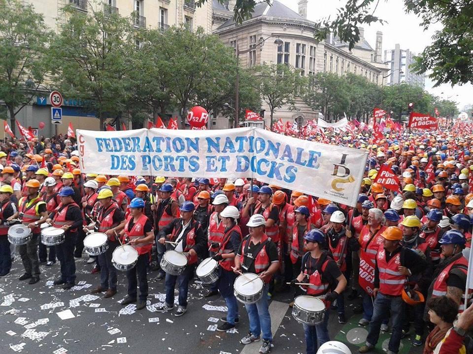 Plus d'un million de manifestants à Paris contre la Loi Travail !
