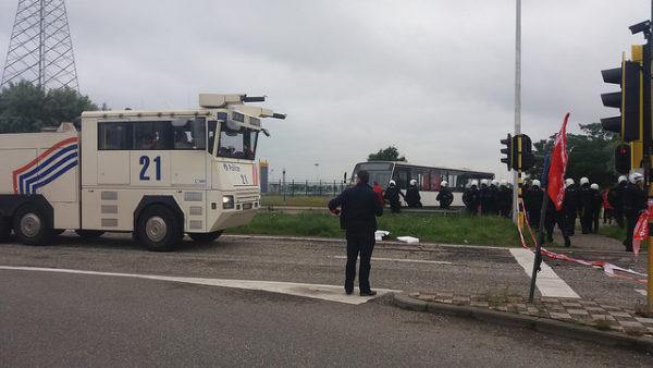 Attaque politique contre le droit de grève au port d'Anvers