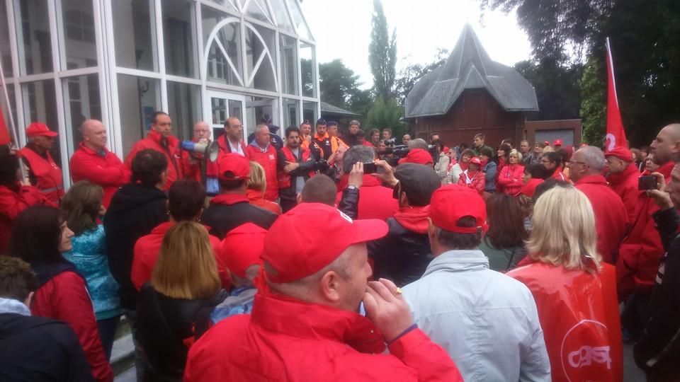 Début des grèves tournantes à l'appel de l'interrégionale wallonne (IRW) de la CGSP
