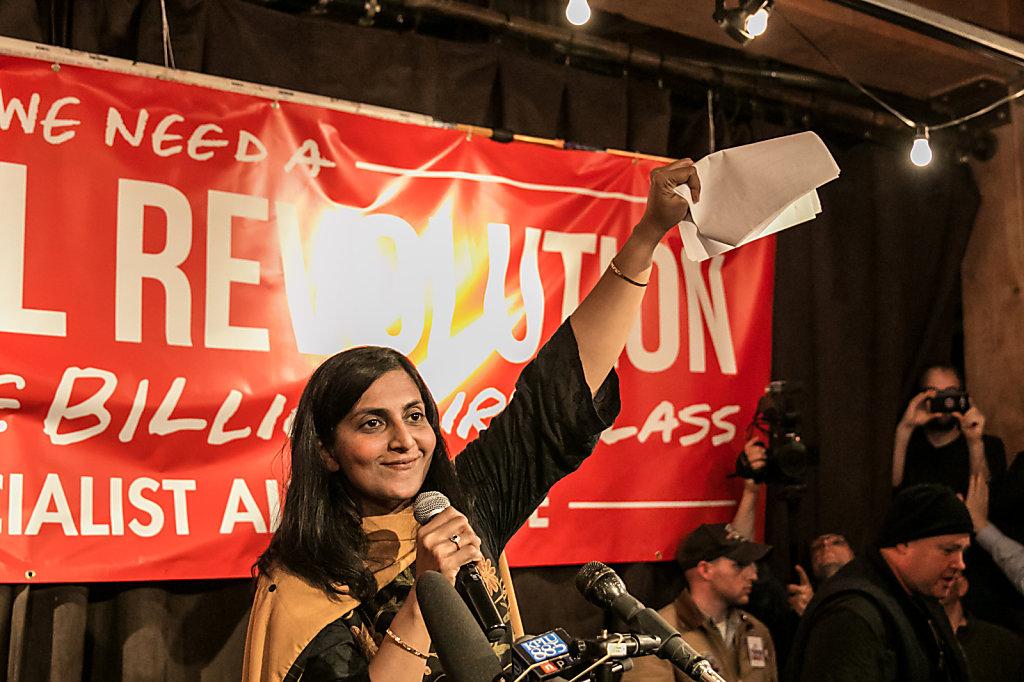 Kshama Sawant à Bruxelles! La révolution politique après Sanders