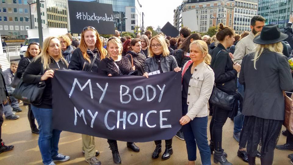 Irlande/Pologne: MON CORPS, MON CHOIX, MA LIBERTÉ !