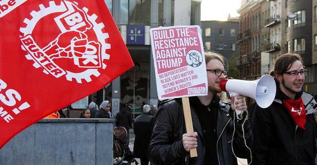 [PHOTOS] Action antifasciste à Anvers contre un meeting néonazi