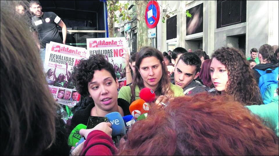 La grève massive des étudiants espagnols fait vaciller le gouvernement