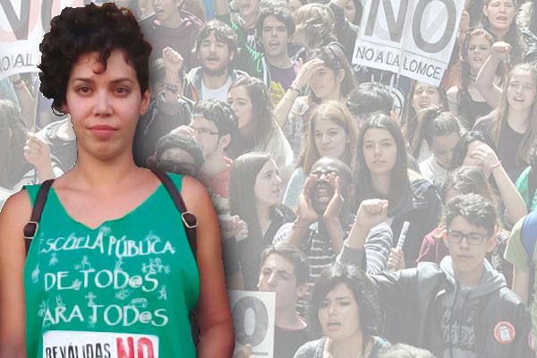 [INTERVIEW] Les étudiants espagnols en première ligne contre le nouveau gouvernement