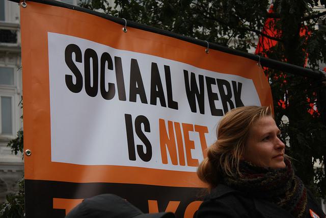 """""""La marchandisation du travail social est désastreuse pour le personnel et les usagers"""""""