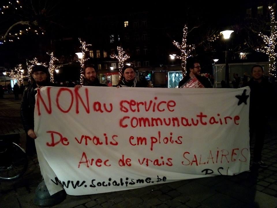 Résistance contre la loi Borsus : le travail social n'est pas un outil du capital !