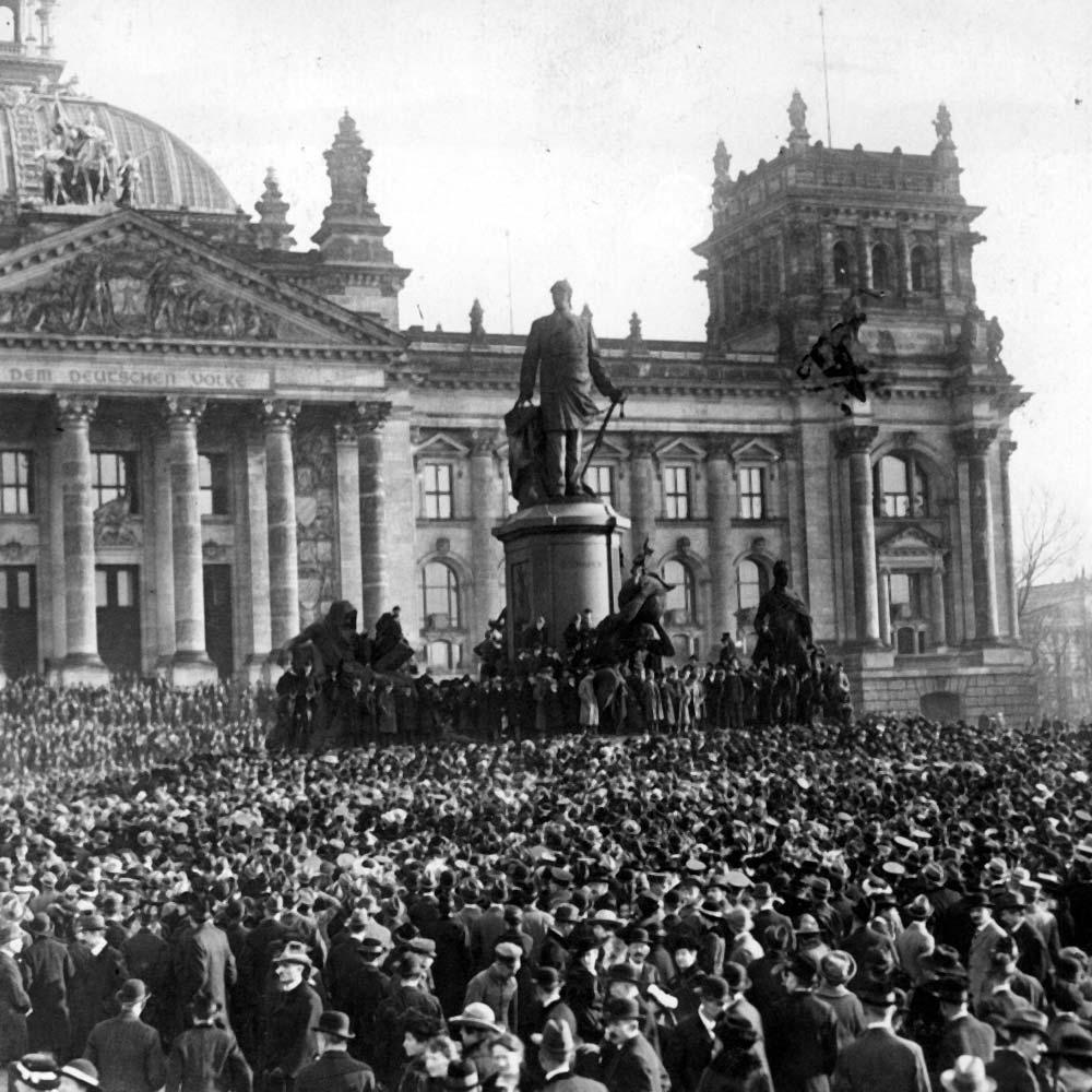 1918. La révolution allemande