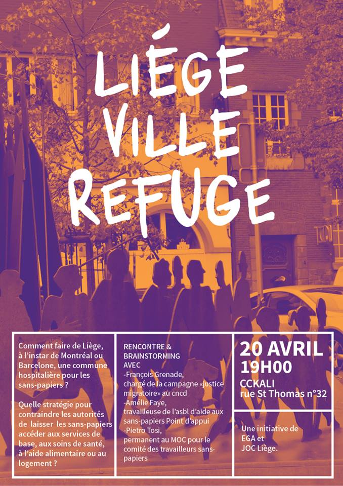 Soirée «Liège, ville refuge». Une belle réussite!