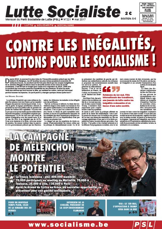 Contre les inégalités, luttons pour le socialisme !