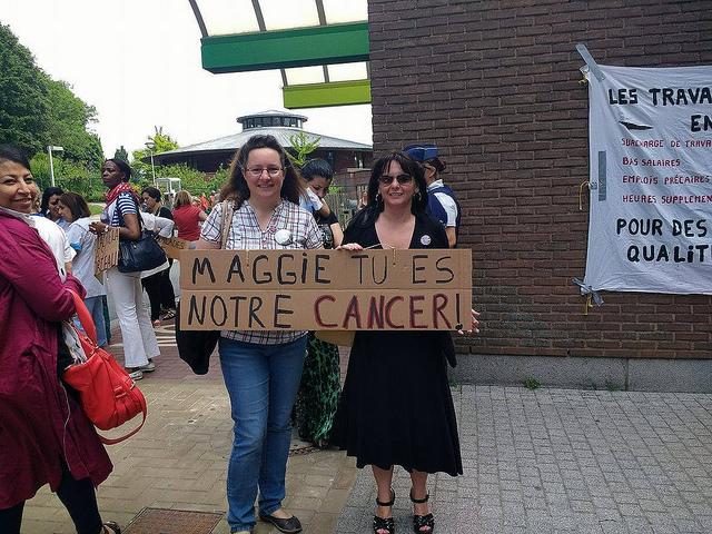 Maggie De Block contre les enfants