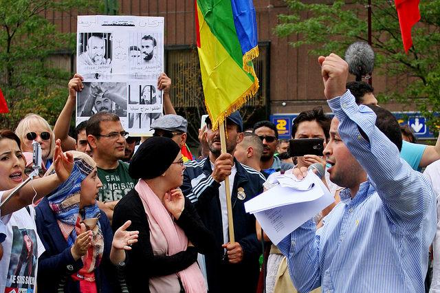 La solidarité avec le soulèvement populaire au Maroc s'organise et manifeste à Bruxelles