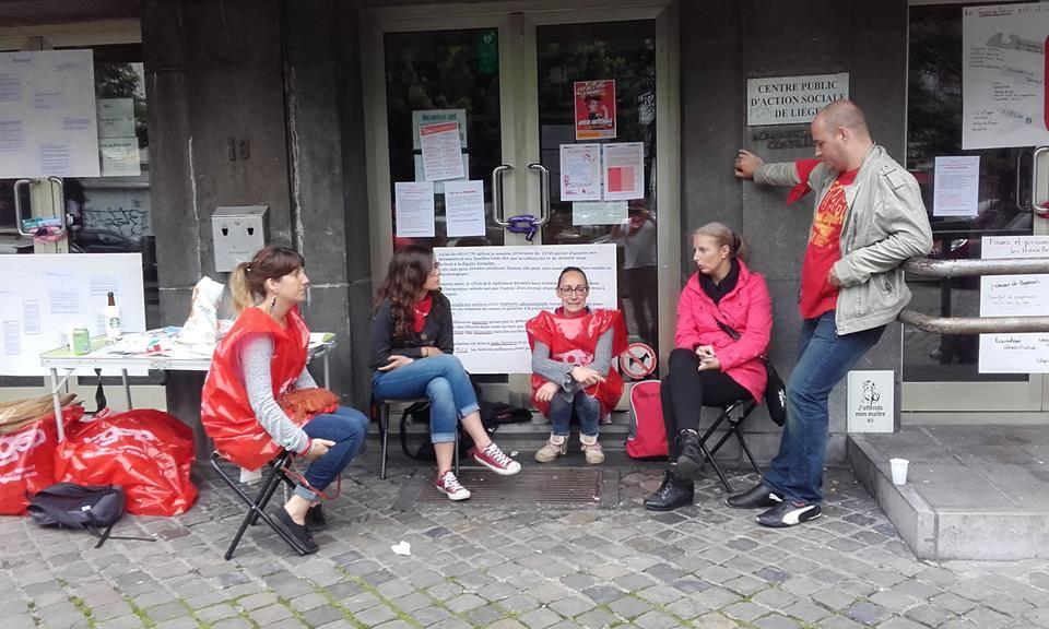 [10/10 – La parole aux grévistes] Un délégué du CPAS de Liège