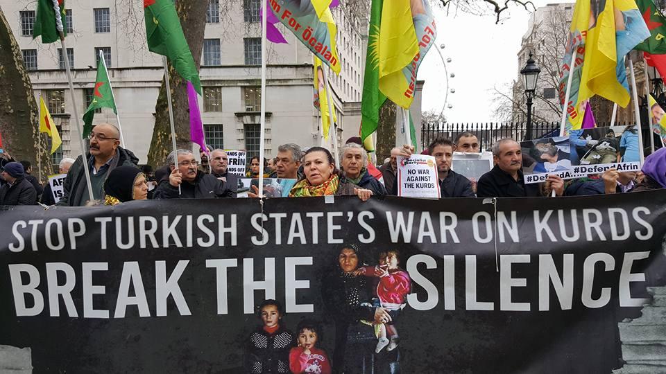 STOP à la guerre contre les Kurdes! #SolidaritéAvecAfrin