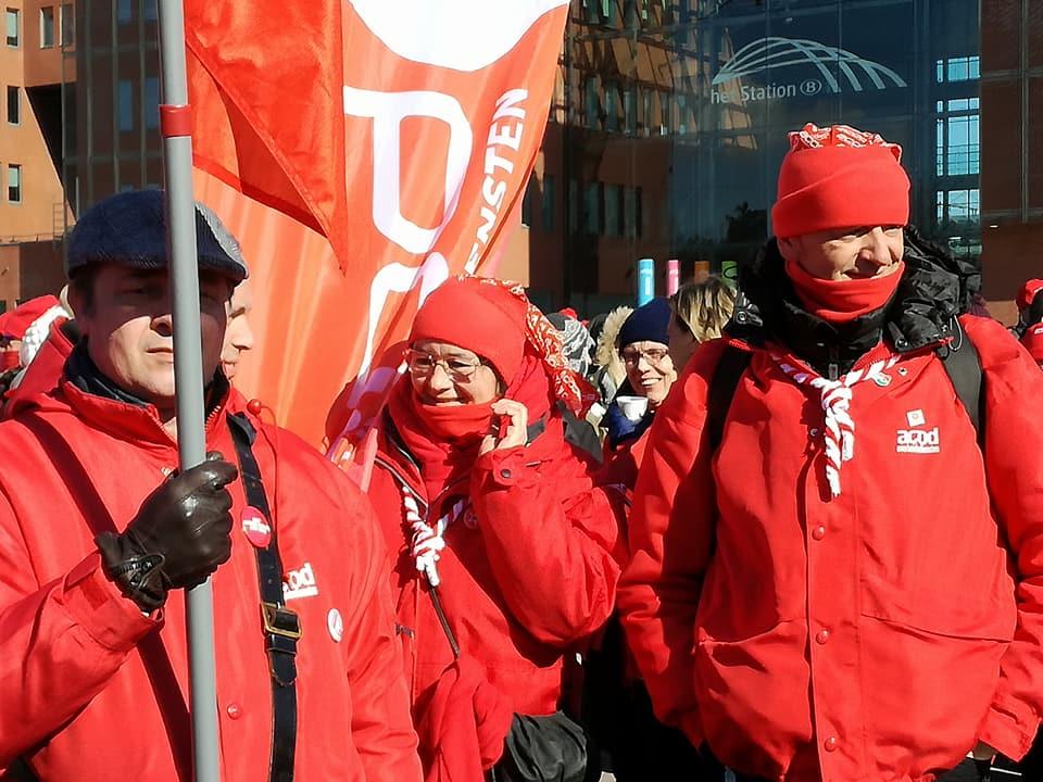 Journée de grève dans le secteur public en défense de nos pensions