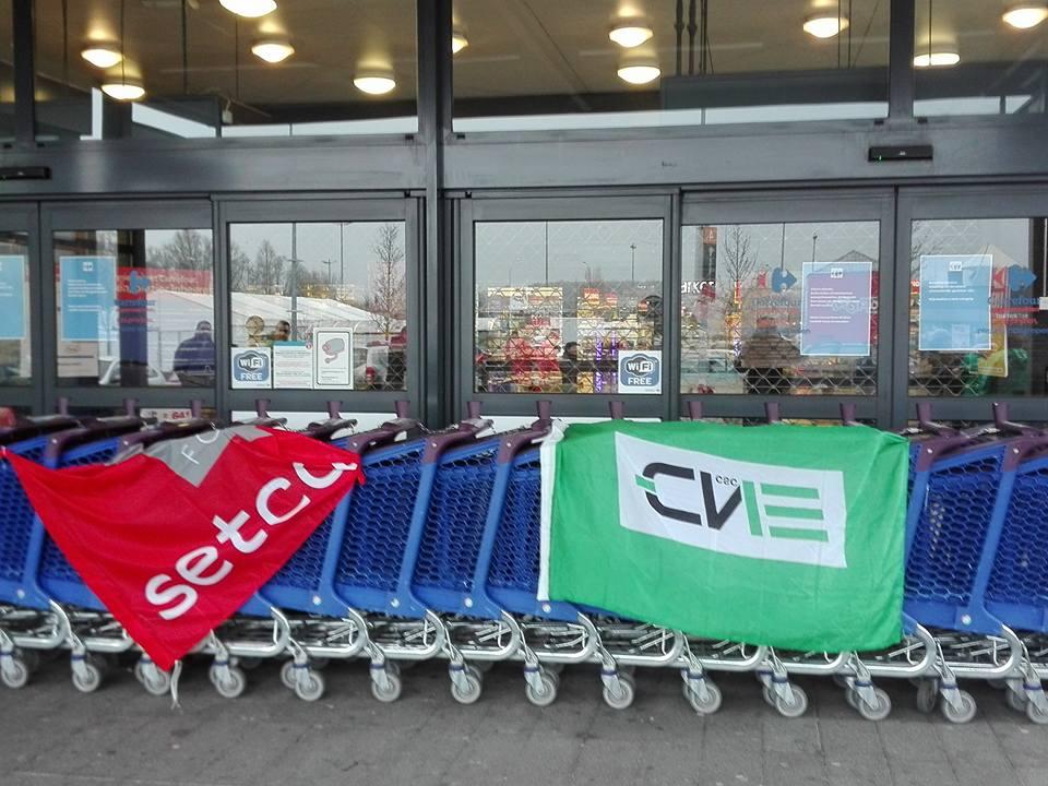 Carrefour : La lutte se poursuit