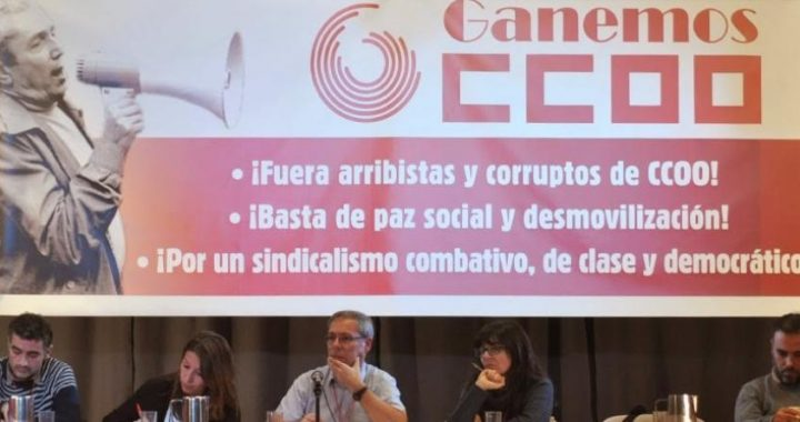 Entrevue avec Xaquin Garcia Sinde, militant du collectif syndical espagnol Ganemos CCOO