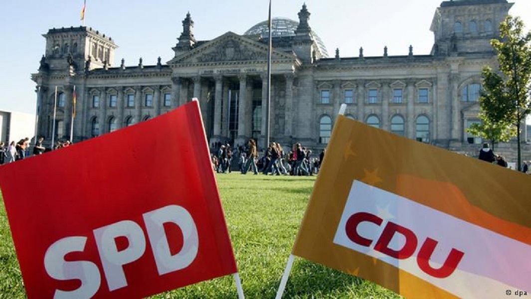 Le gouvernement allemand formé six mois après les élections