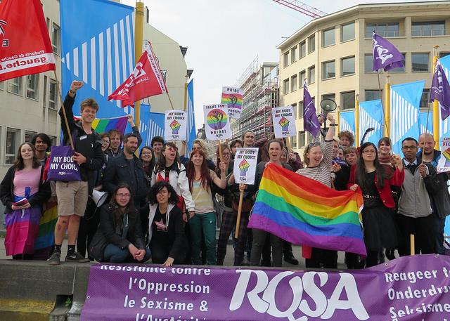 Délégation combative à la Pride : «Pride is a protest!»