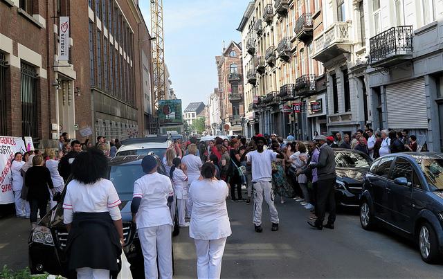 Arrêt de travail au CPAS de Saint-Gilles