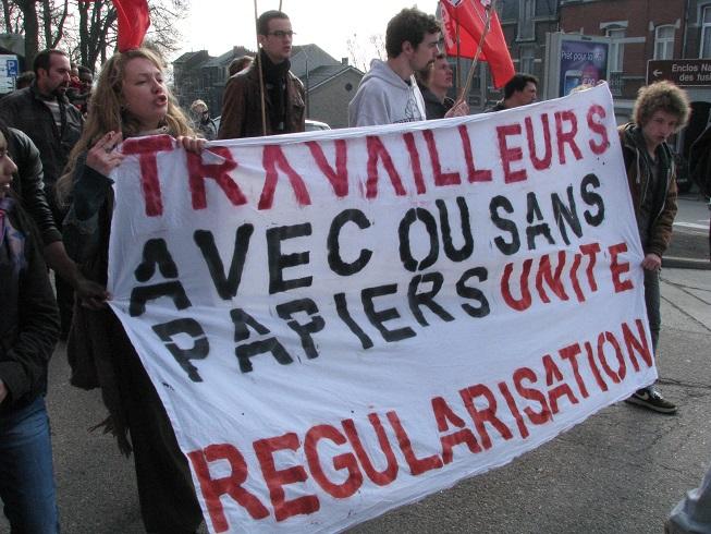Libération d'Hervé, étudiant camerounais sans-papiers placé en centre fermé