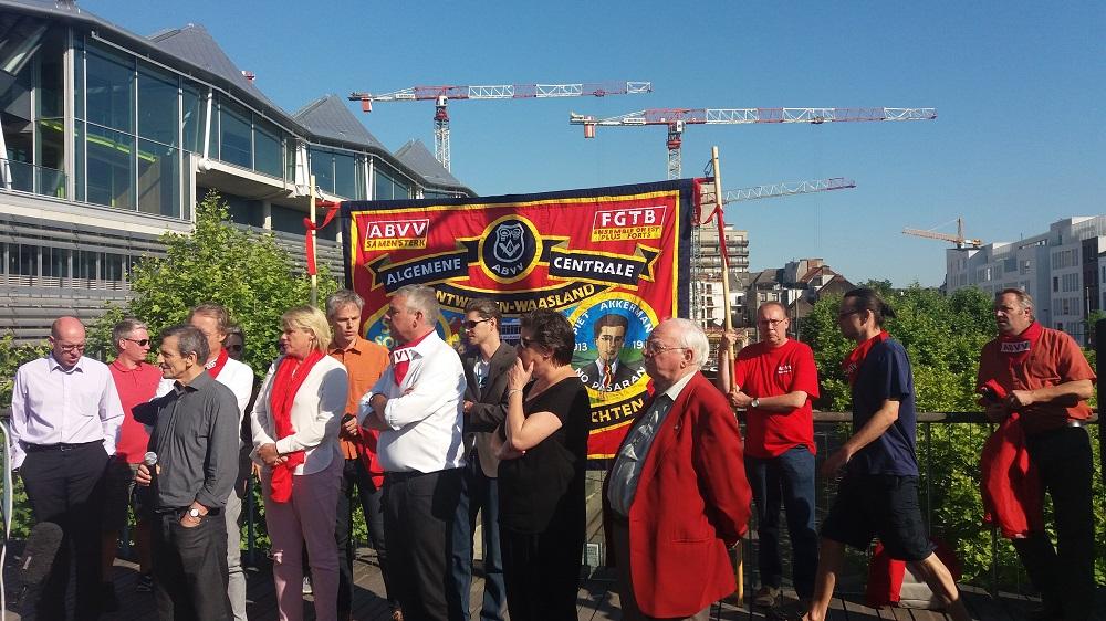 Condamnation du droit de manifester à Anvers : Ripostons par une campagne de masse !