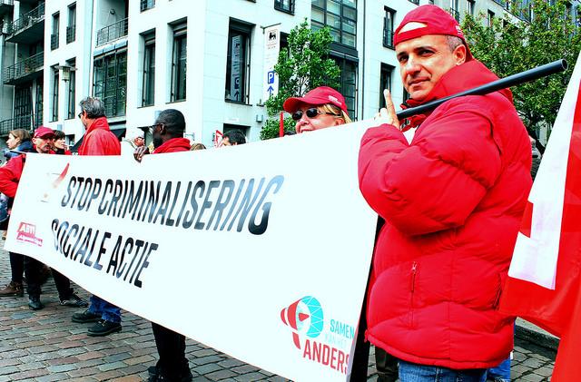 Anvers. Attaque inédite contre notre droit à mener des actions collectives