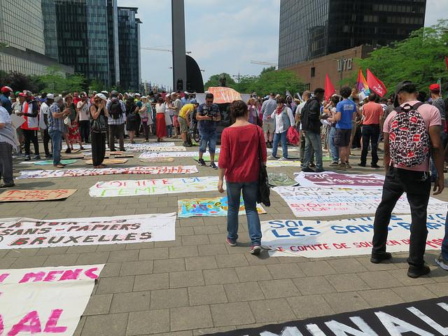 [PHOTOS] Manifestation pour la régularisation des sans-papiers