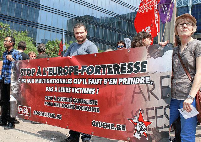 Quelle réponse à la politique d'asile brutale de Francken, Trump, Salvini & Co ?