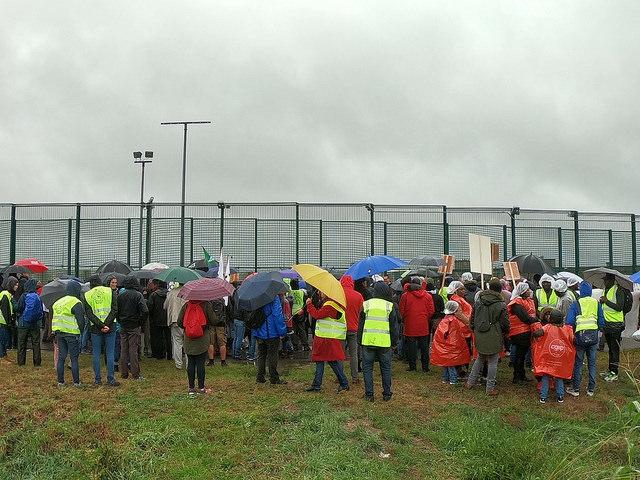 20 ans après la mort de Sémira : action de protestation à Steenokkerzeel