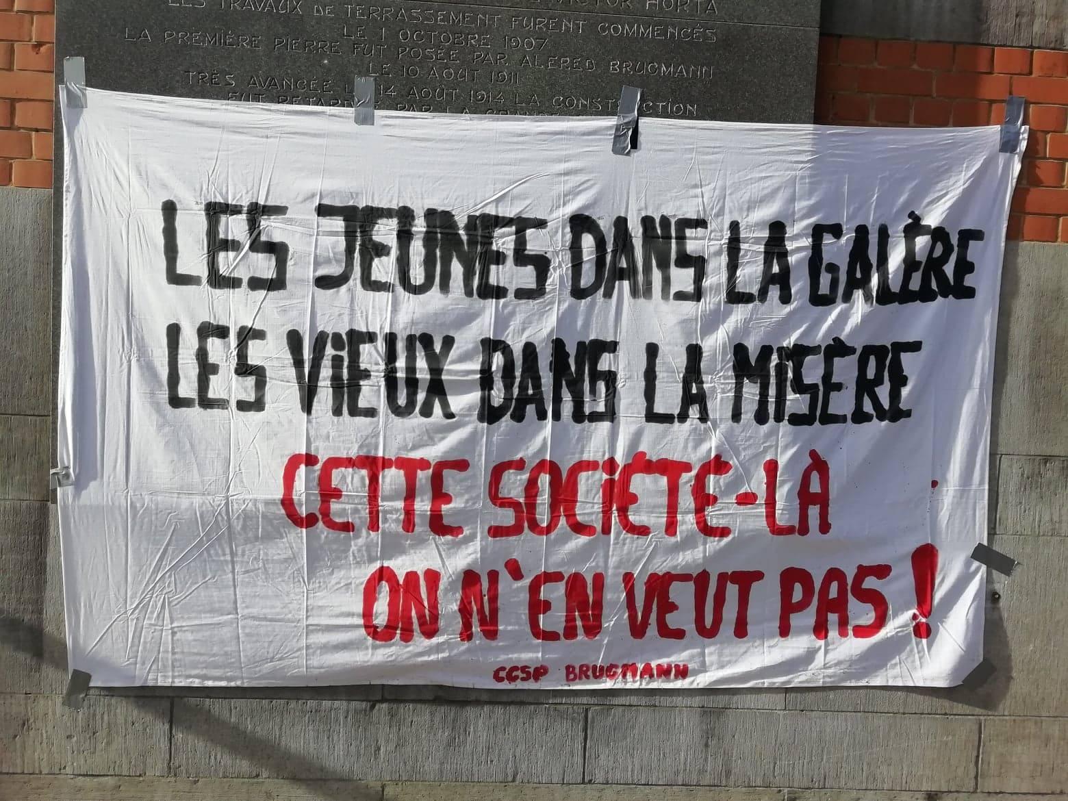 Journée d'action à Bruxelles «Tout augmente, sauf nos salaires !»