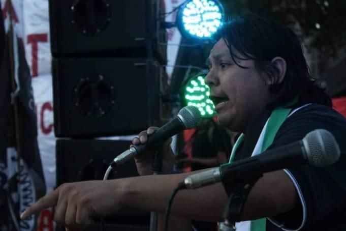 Rassemblement pour la libération de Daniel RUIZ et contre la répression du gouvernement argentin !