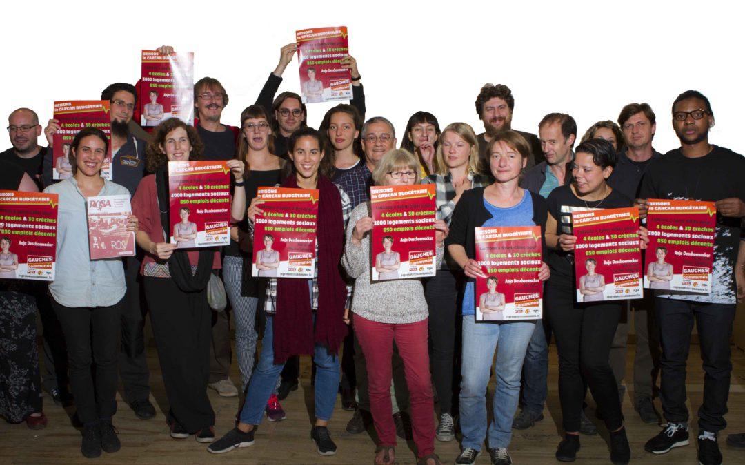 Saint-Gilles : Gauches Communes, moteur d'une campagne marquée à gauche