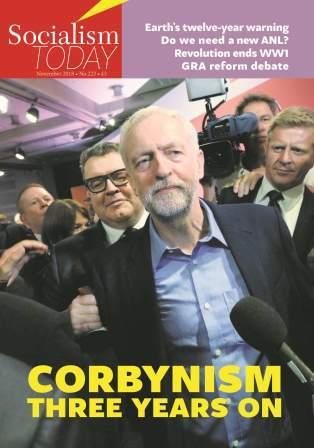 Le Corbynisme, trois ans plus tard