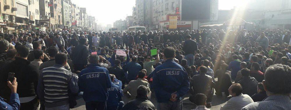 Le régime iranien arrête des ouvriers en grève