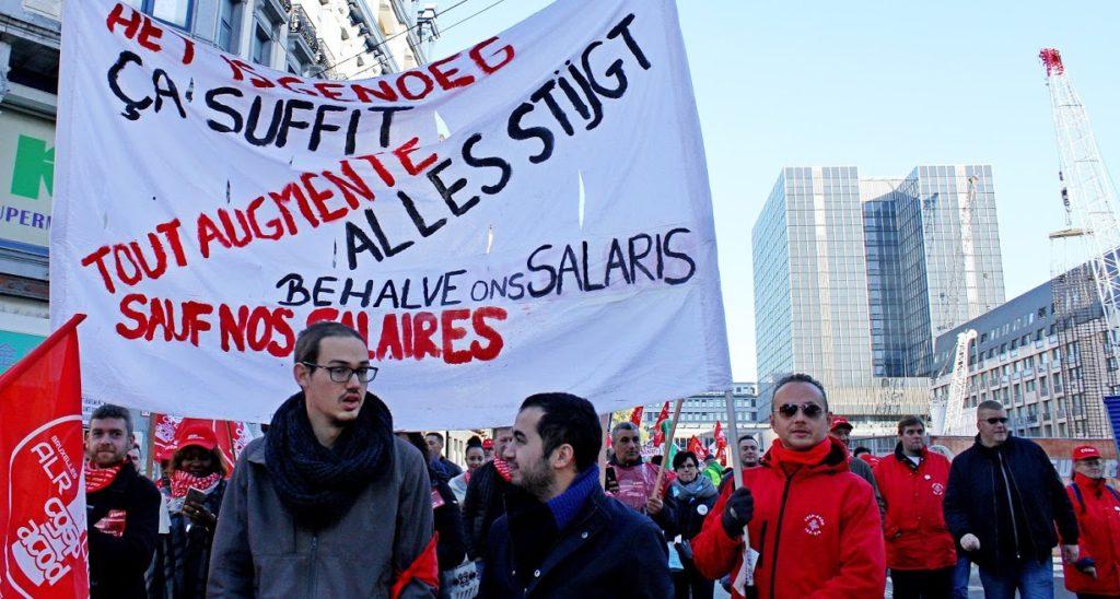 0,8%, c'est une insulte! Grève pour une réelle augmentation salariale le 13 février!