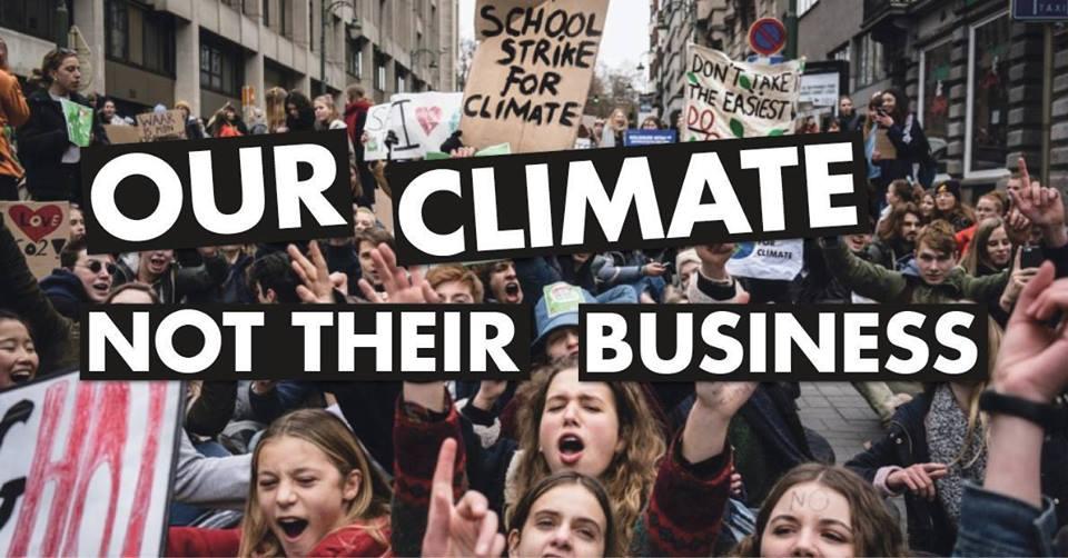 «Marxisme et climat» : Deux meetings des Etudiants de Gauche Actifs à l'ULB et l'ULg