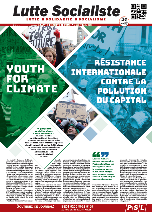 Résistance internationale contre la pollution du capital !