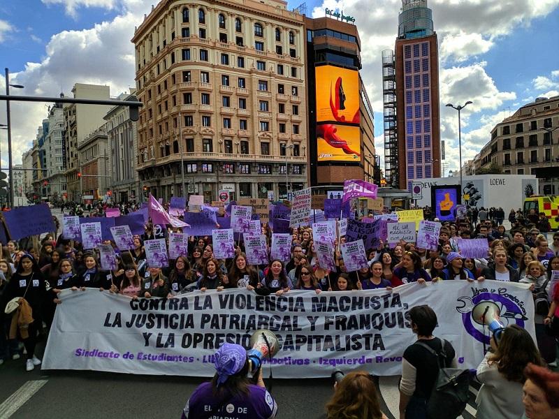 8 mars. Une nouvelle mobilisation historique dans l'Etat espagnol !