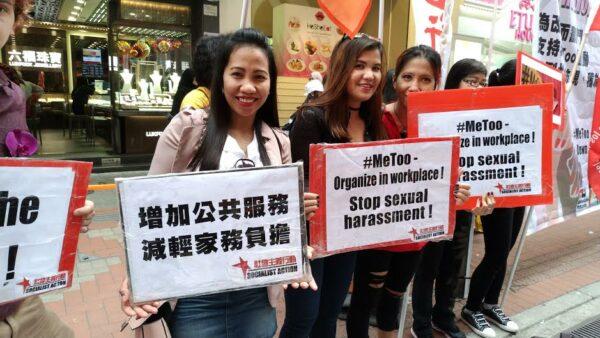 8 mars. Hong Kong – Les travailleuses migrantes en lutte contre l'esclavage moderne