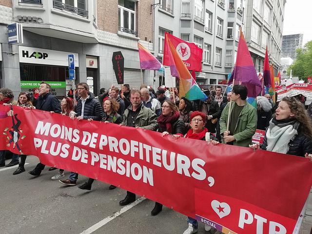 Votez PTB pour la taxe des millionnaires et rejoignez le PSL pour une transformation socialiste de la société