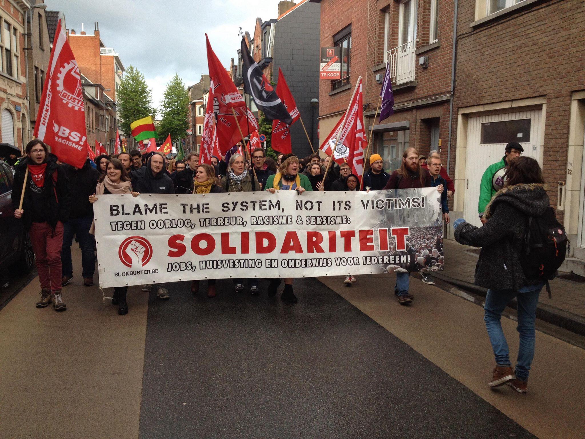 Louvain: Les antifascistes surpassent l'extrême droite